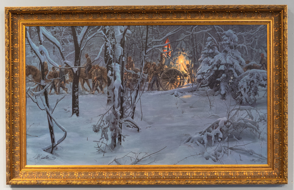 Confederate Christmas - Framed