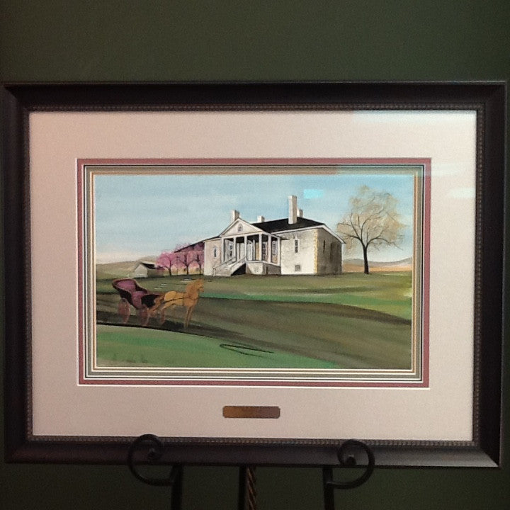 Spring At Belle Grove - ORIGINAL