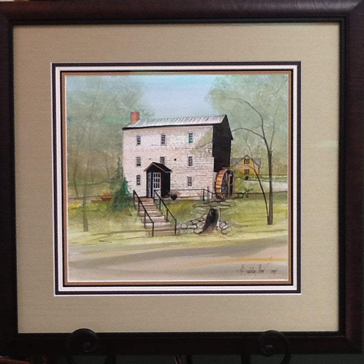 Spring at the Spengler Mill  - ORIGINAL