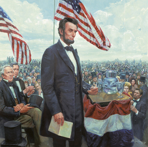 The Gettysburg Address – King James Galleries