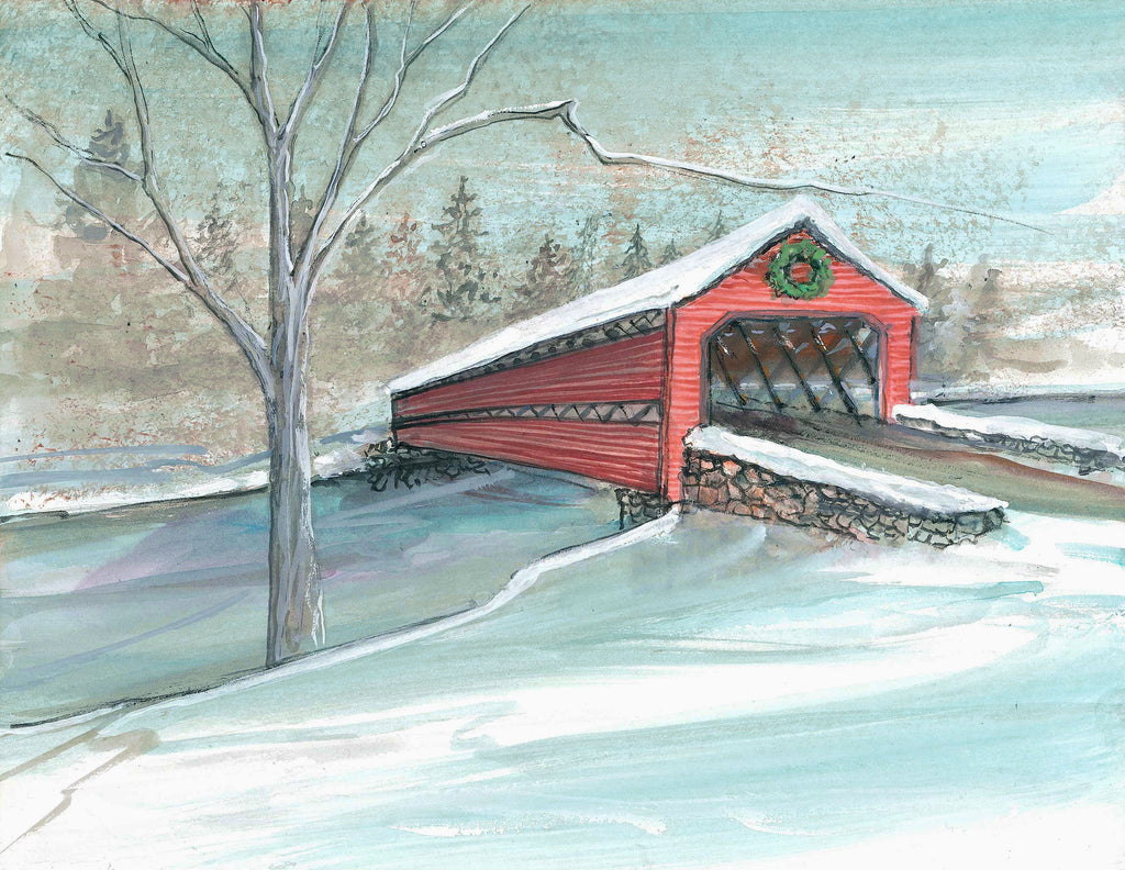 Winter at Sachs Bridge