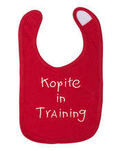 Load image into Gallery viewer, Kopite in Training Infant Premium Bib