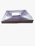 Pure aluminium square pan - Elim production services
