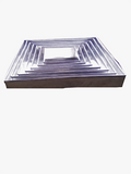 Set of 7 Pure aluminium square pan - Elim production services
