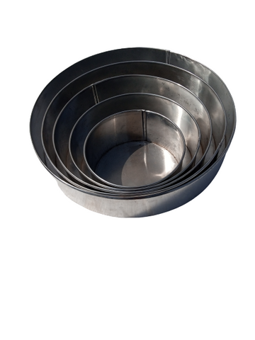 Set of 5 Pure Aluminium circle Pans - Elim production services