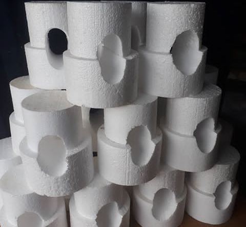 Double hollo Styrofoam - Elim production services