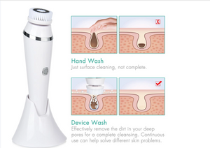 FACE CLEANSING BRUSH SONIC SYSTEM