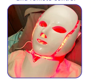 LED LIGHT THERAPY MASK FOR FACIAL SKIN CARE