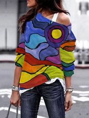 Women's Casual Print Tops