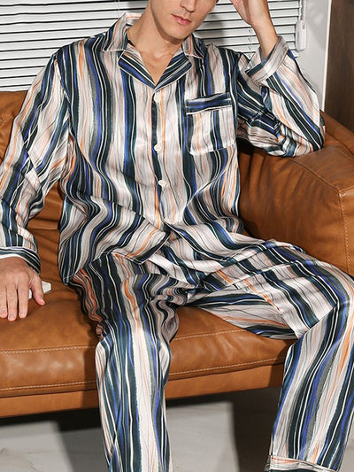 Stripe Casual Striped Sleepwear & Loungewear