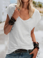 Neck Short Sleeve Shirts & Tops