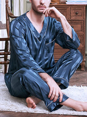 Shirt Collar Sleepwear & Loungewear