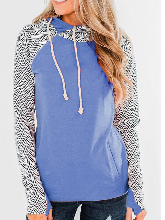 Long Sleeve Shift Casual Sweatshirt
