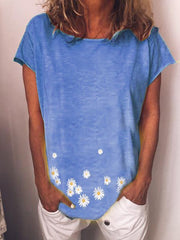 sunflower Casual O-Neck Shirts & Tops