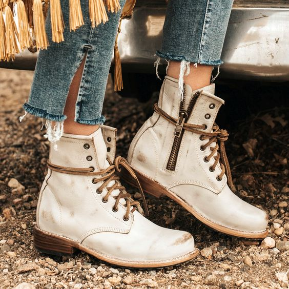 Flat Heel Daily All Season Boots
