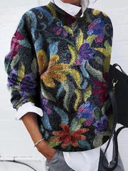 Multicolor Shift Floral Printed Casual Shirts & Tops