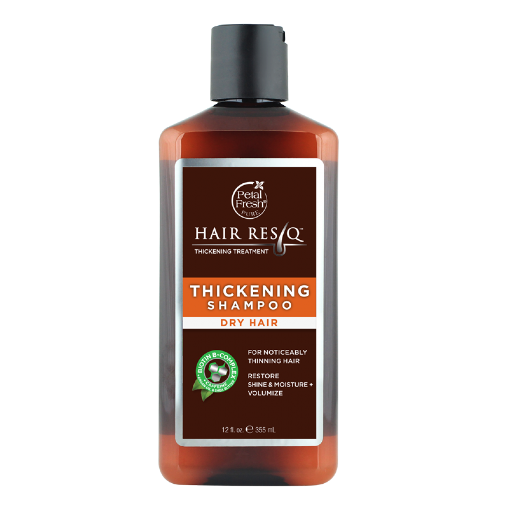 Petal Fresh - Hair ResQ Dry Hair Natural Thickening Shampoo For Noticeably Thinning Hair