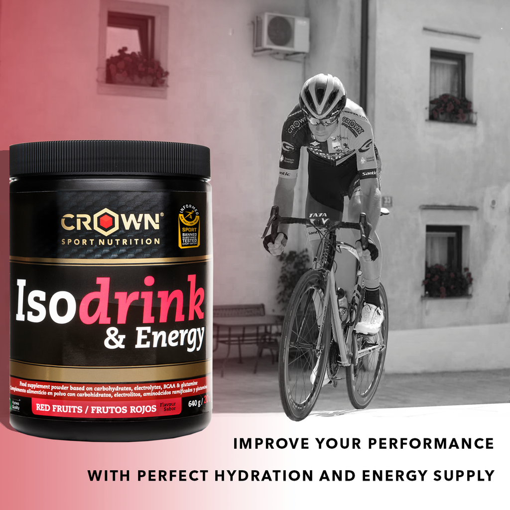 Isodrink & Energy PRO - Red Fruits Flavour 640g