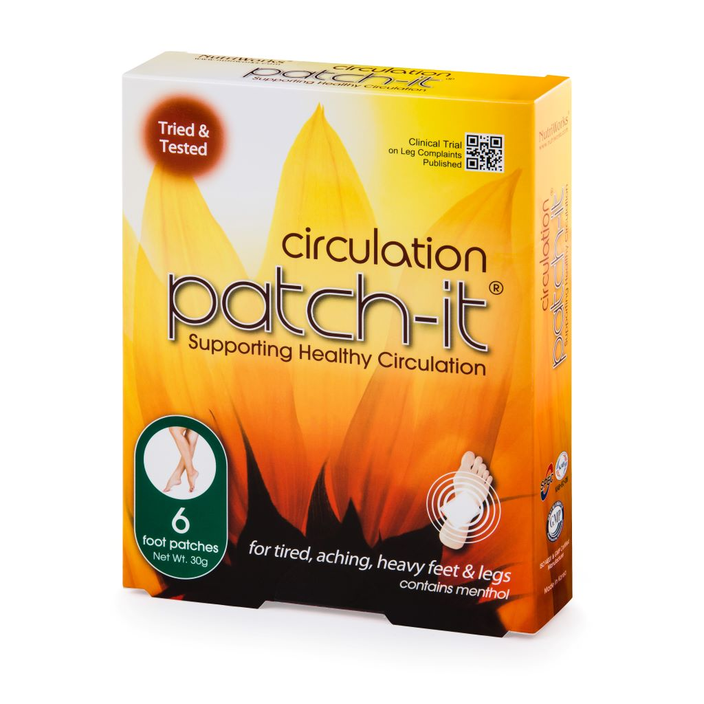 Circulation Patch-It 6 Piece - Free Shipping