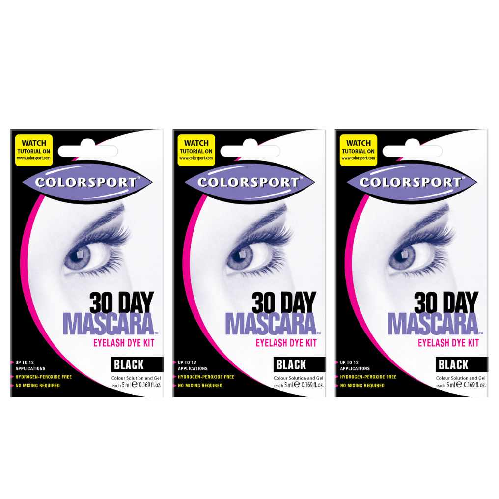 30 Day Mascara- BLACK - 3 Pack