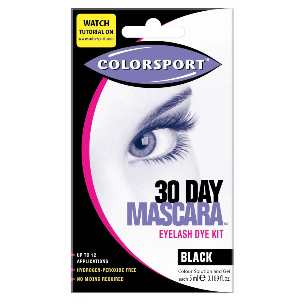 Colorsport  30 Day Mascara Black - Free Shipping