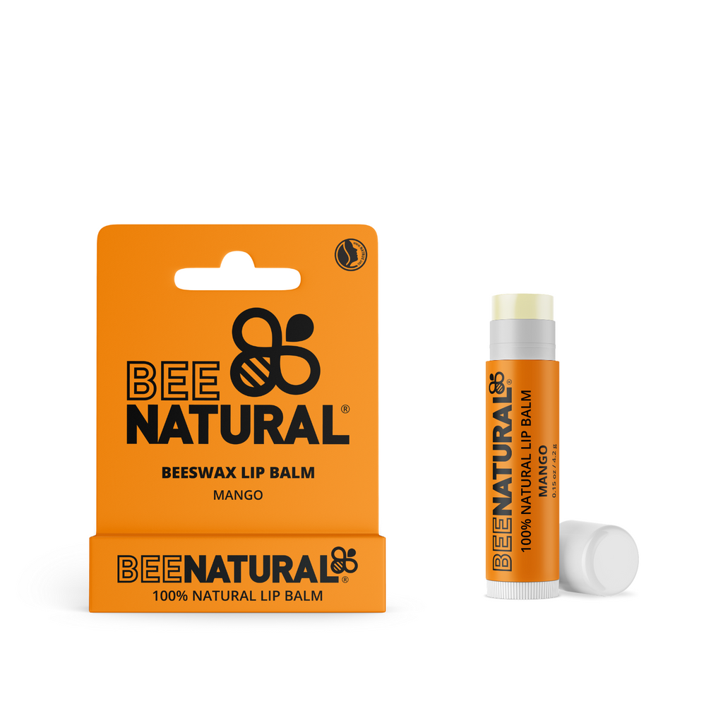 100% Natural eco-friendly moisturising  Lip Balm Mango flavour - Free Postage