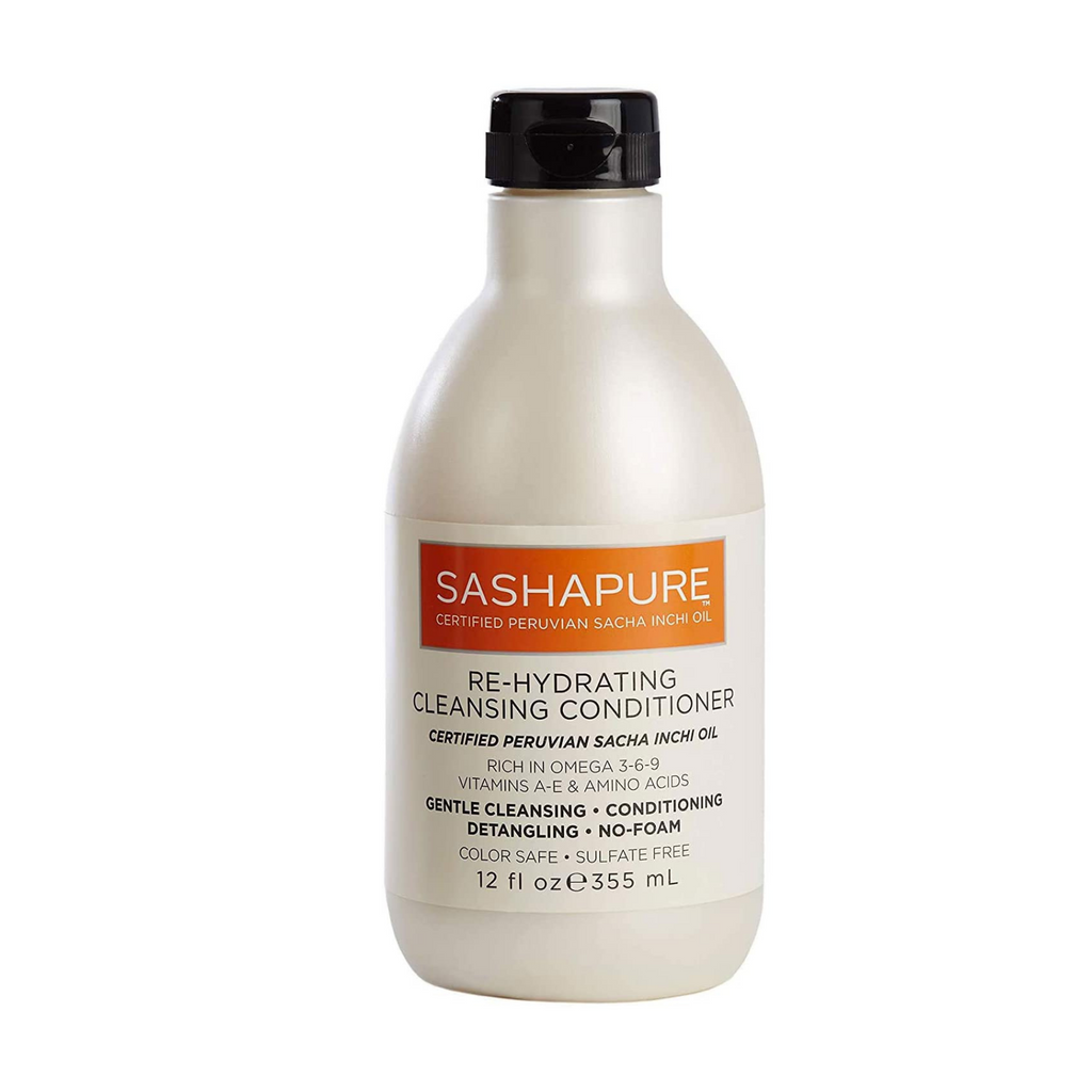 Sashapure Re-Hydrating  Cleansing Conditioner 355ml