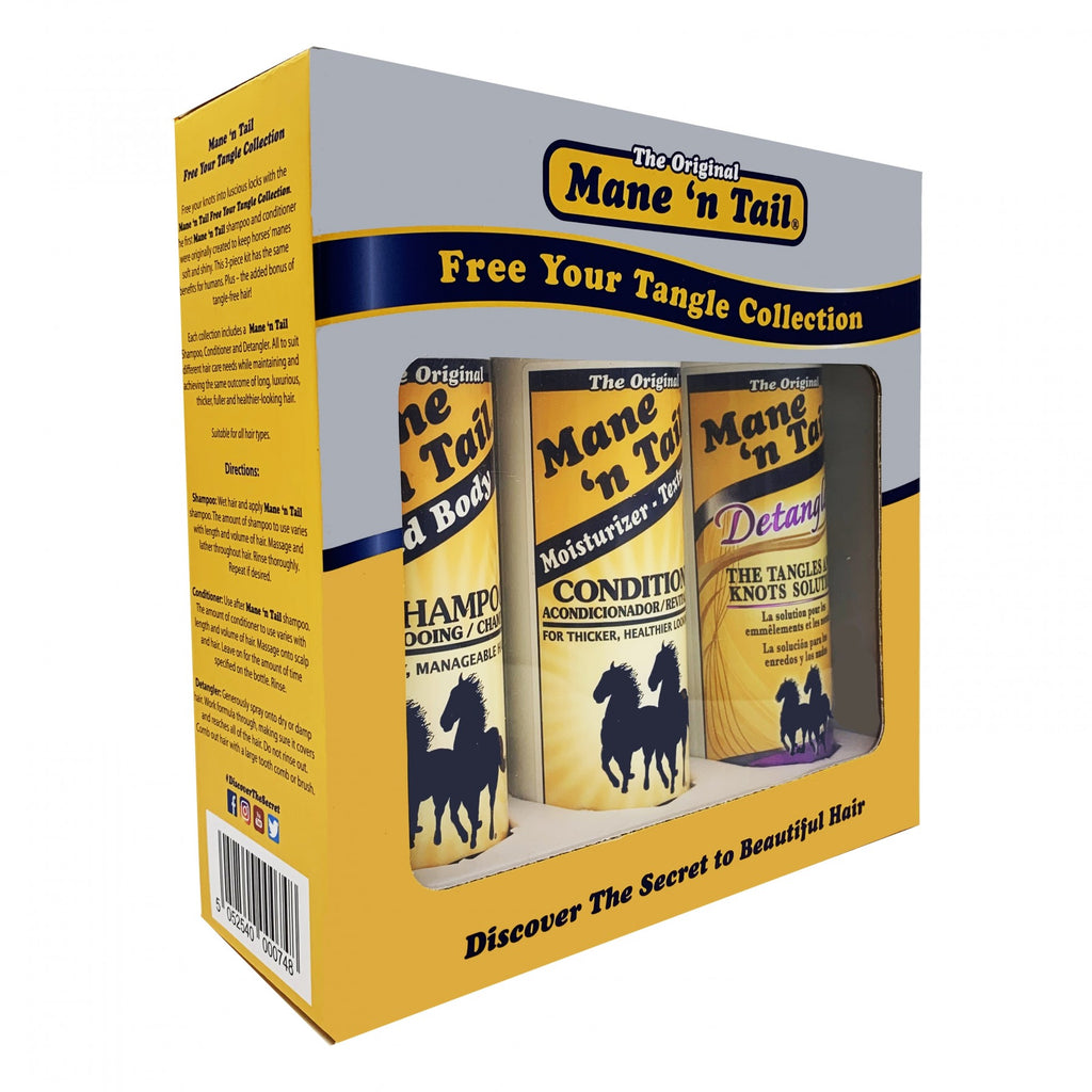 Mane 'n Tail -  Free Your Tangle Collection - Original Gift Set