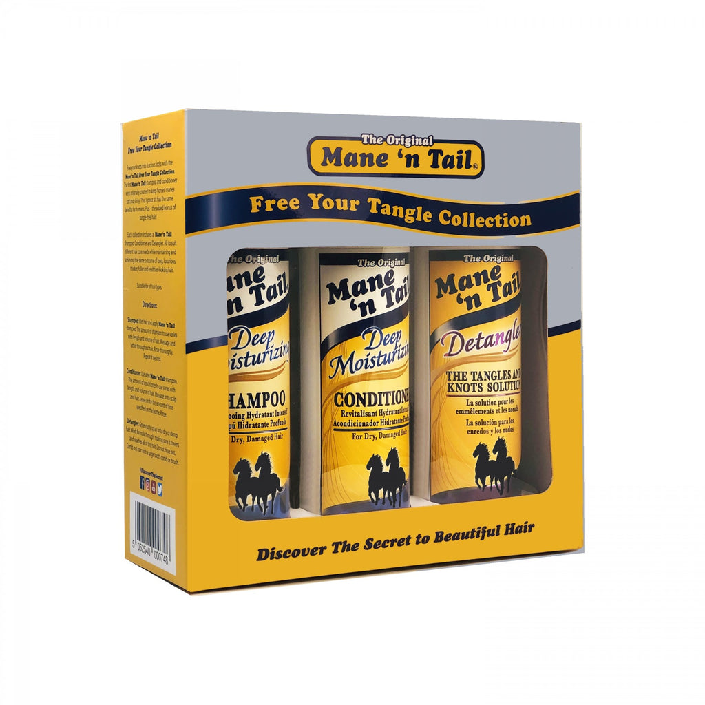 Mane 'n Tail -  Free Your Tangle Collection -  Deep Moisturizing Gift Set