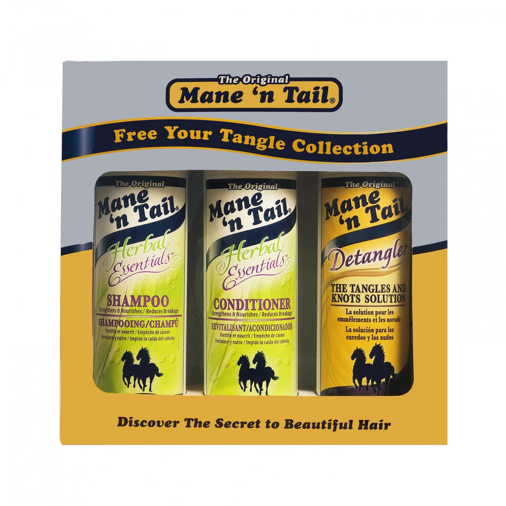 Mane 'n Tail -  Free Your Tangle Collection - Herbal Essentials Gift Set