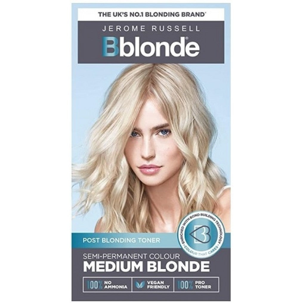 Bblonde Semi Permanent Toner Medium Blonde