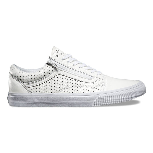 Old Skool Zip (Perf Leather) True White