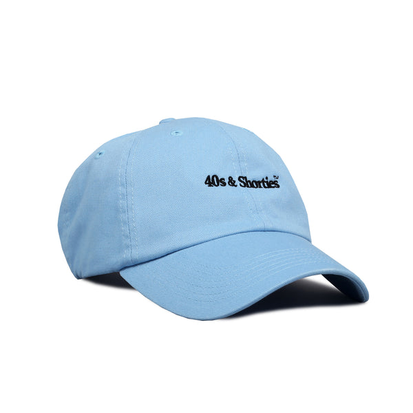Text Logo 6 Panel Baby Blue