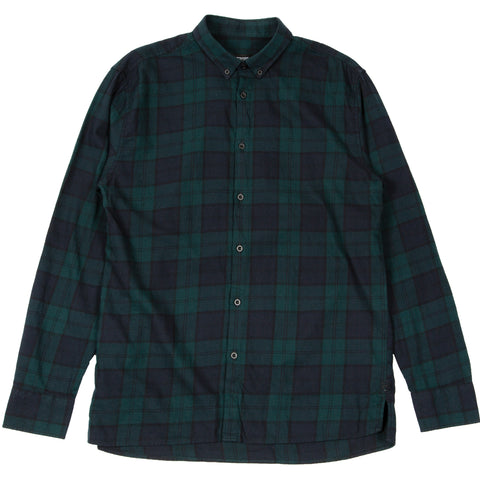 Flannel LS Shirt Ink Forest