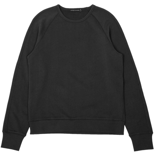 French Terry Raglan Sweatshirt Charcoal