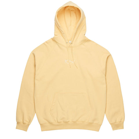 Default hooded Fleece Light Yellow