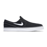 Air Zoom Stefan Janoski Slip Black White