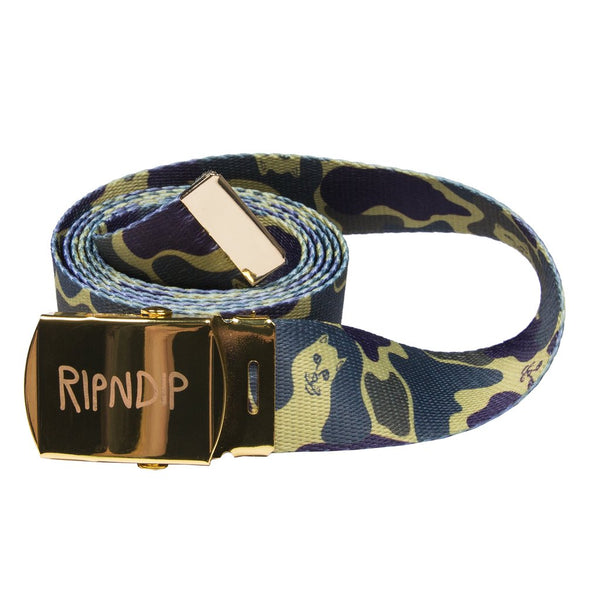 Web Belt Nermal Plum Camo