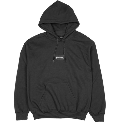 Split Up Graphic Fleece Black