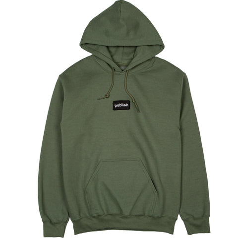 Split Up Graphic Fleece Olive
