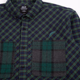 Adis Button Up Green