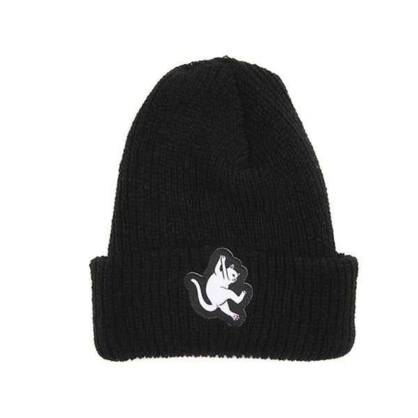 Hang In there Beanie Black