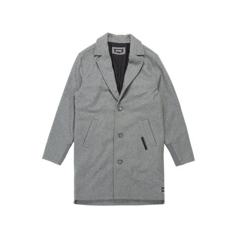Boston Melton Jacket Grey Marle