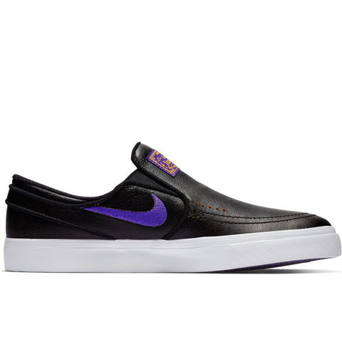 Janoski Slip NBA Black Field Purple Amarillo