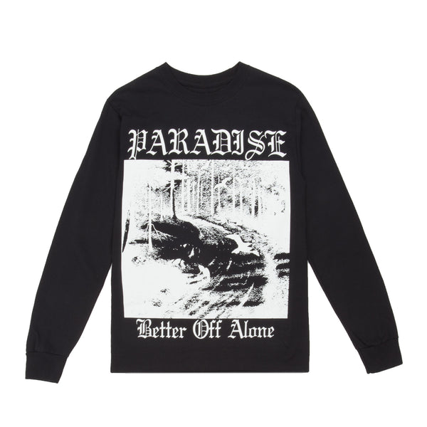 Better Off Alone L/S Black
