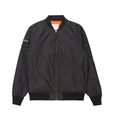 Braeden Bomber Jacket Black