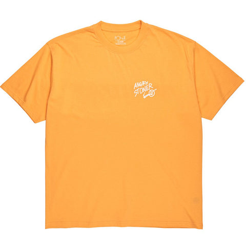 Angry Stoner T-Shirt Orange