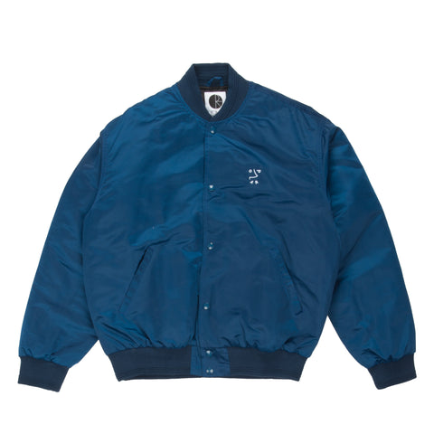 College Jacket Petrol Blue