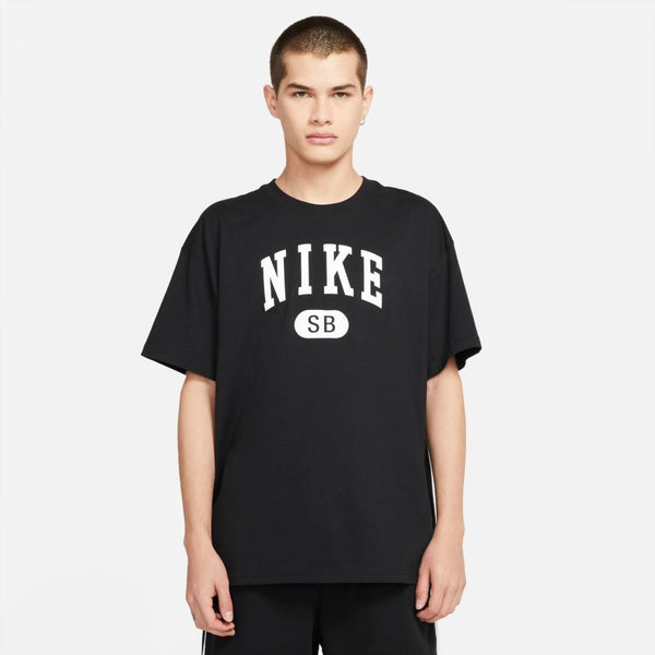 Nike SB Collegiate T-Shirt Black White