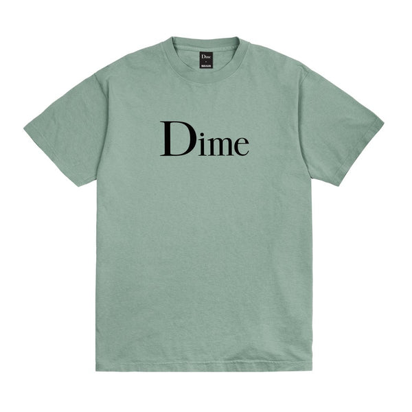 Dime Classic Logo T-Shirt Atlantic Green